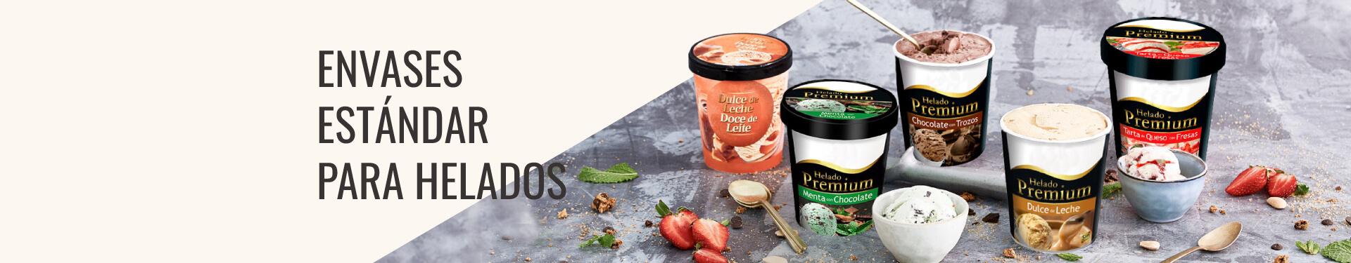 Fabricación envases para helados